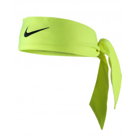 Nike Dri-Fit Headband - Atomic Green / Black logo