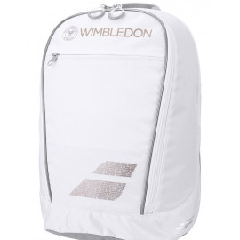 Babolat Wimbledon Club Backpack Bag - White/Gold