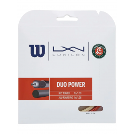Wilson Duo Power Roland Garros Tennis String