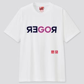 Uniqlo Roger Federer Short Sleeve T-shirt