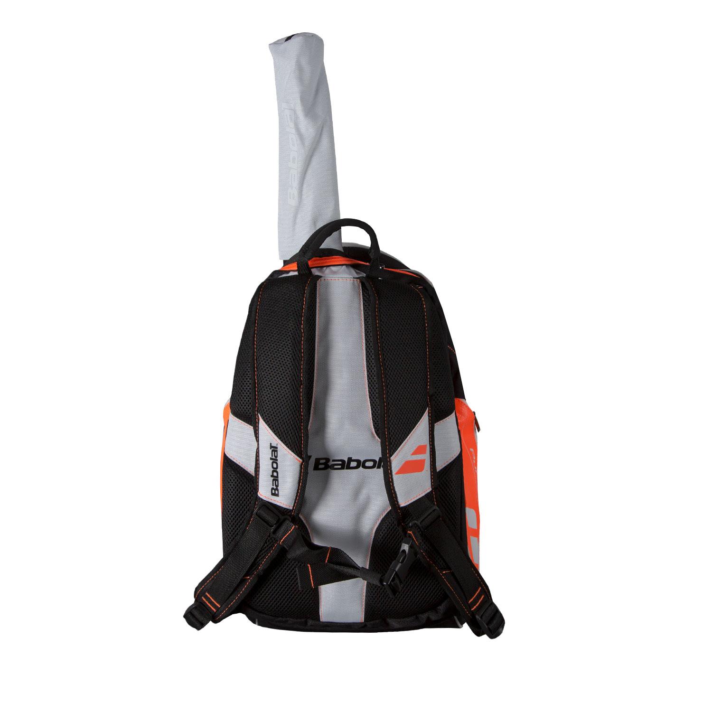 Babolat Pure Aero Backpack Bag - White/Orange