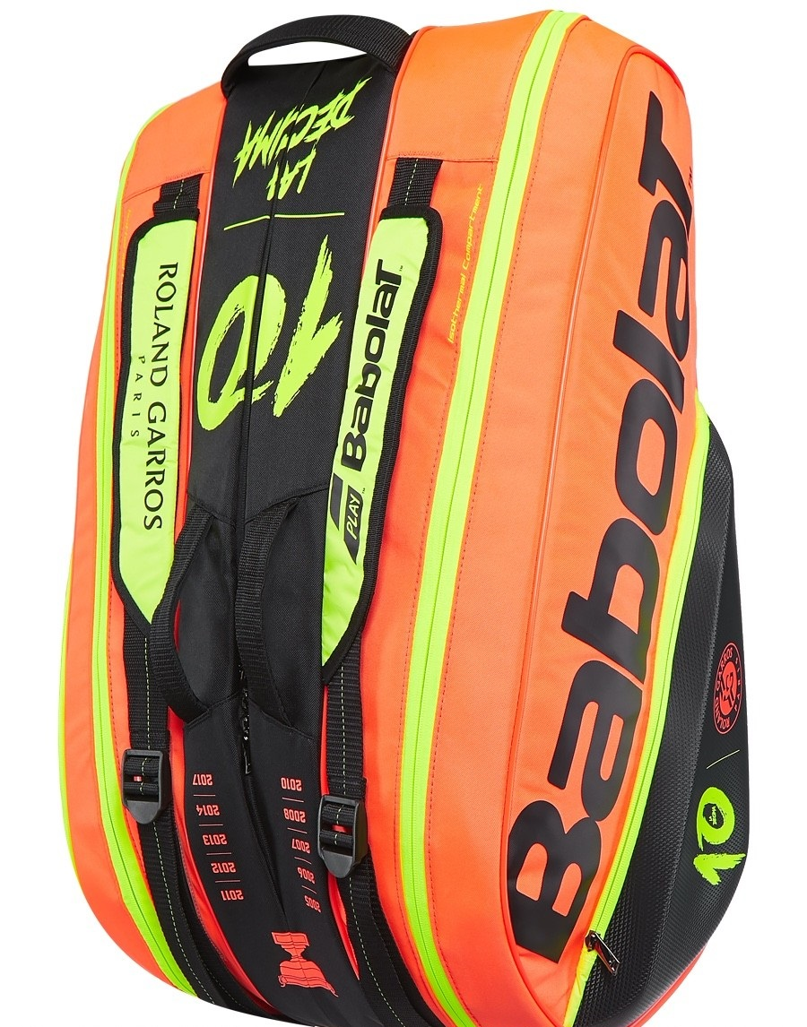 Babolat Pure French Open Decima 12 Pack Bag