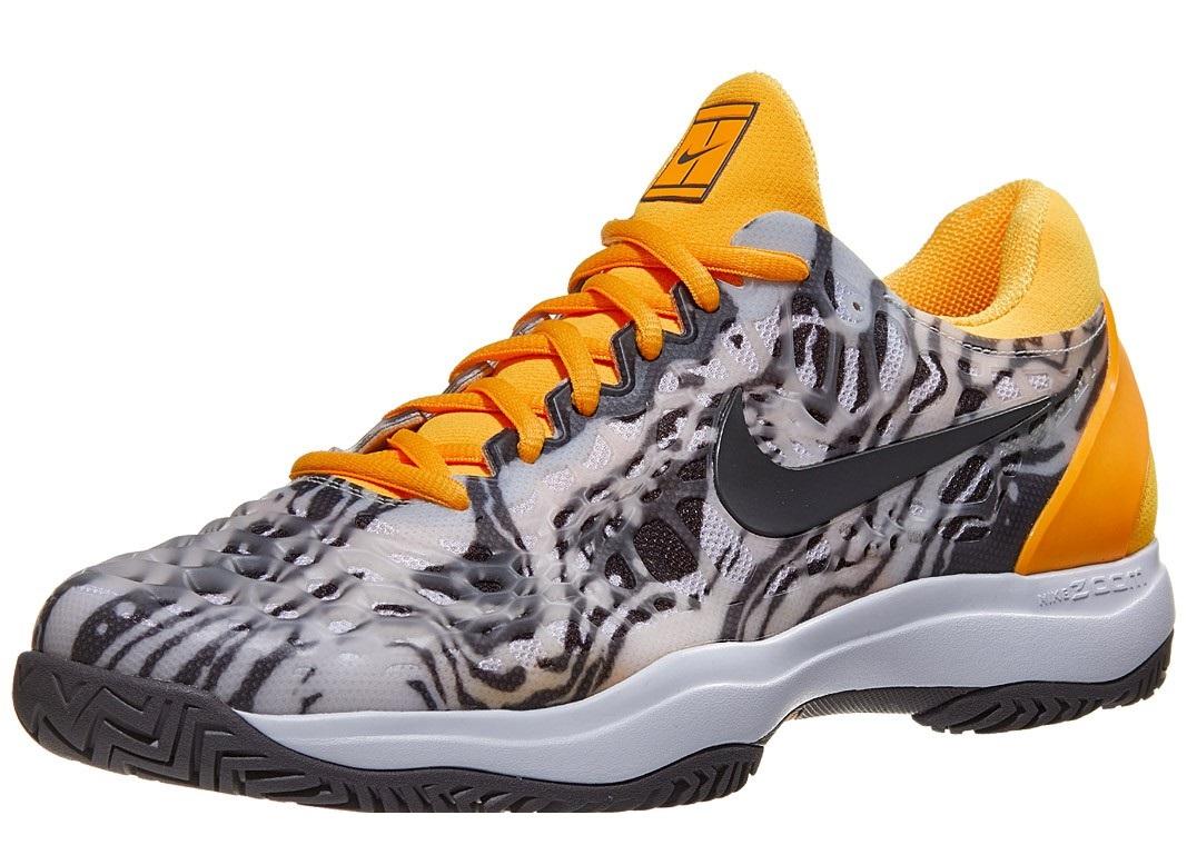 Nike Air Zoom Cage 3 Grey Orange Men S Shoe Rafa Nadal