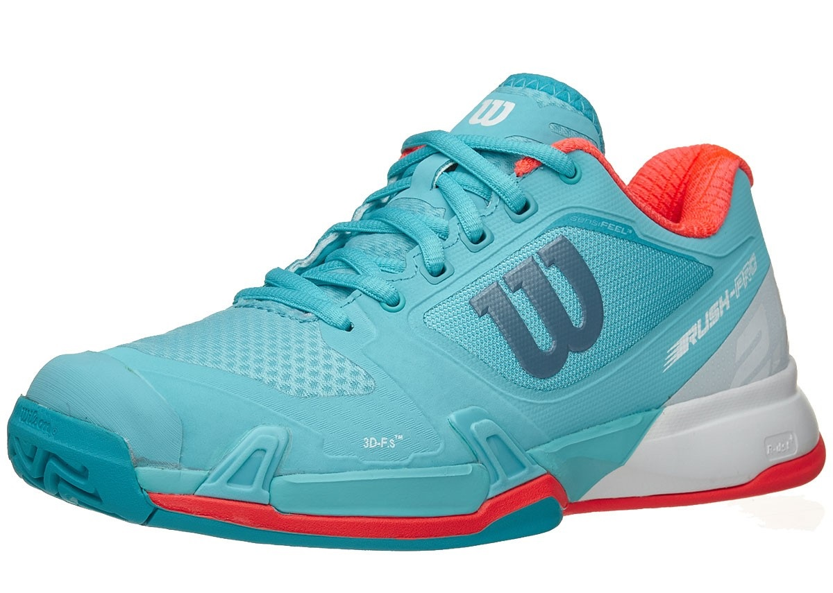 Wilson Rush Pro Women's Shoe - Blue
