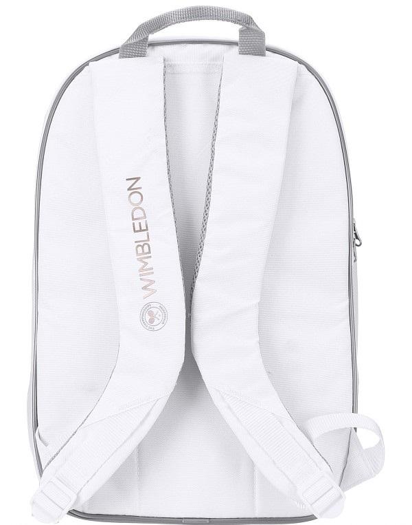 Babolat Wimbledon Club Backpack Bag - White/Gold