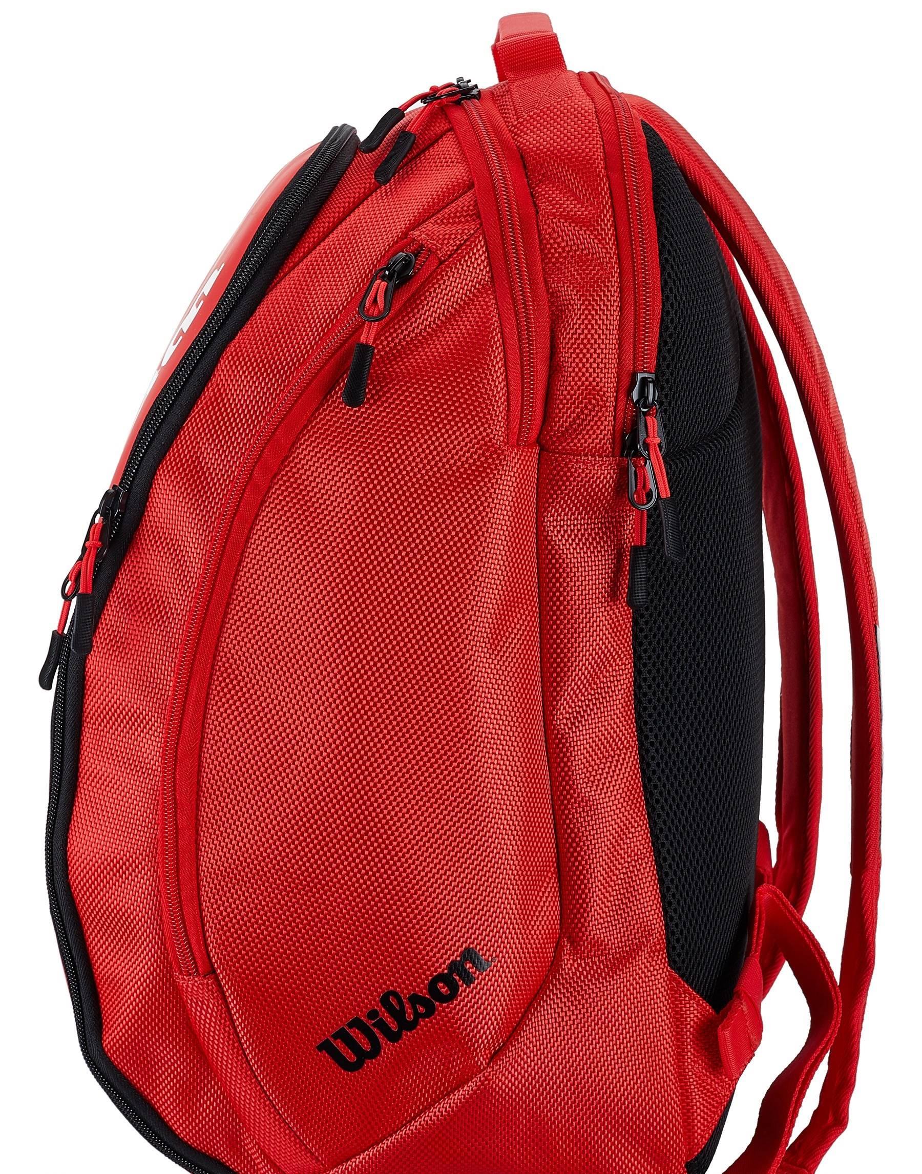Wilson Federer DNA Backpack Bag - Red
